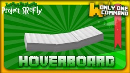 #BackToTheFuture Back to the Future hoverboard with only one command block Minecraft Map & Project