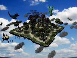 Nature themed spawn. Minecraft Map & Project