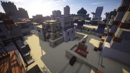 Dust II(de_dust2) Counter Strike: Global Offensive Minecraft Project