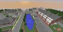The Walking Dead Alexandria Minecraft Project