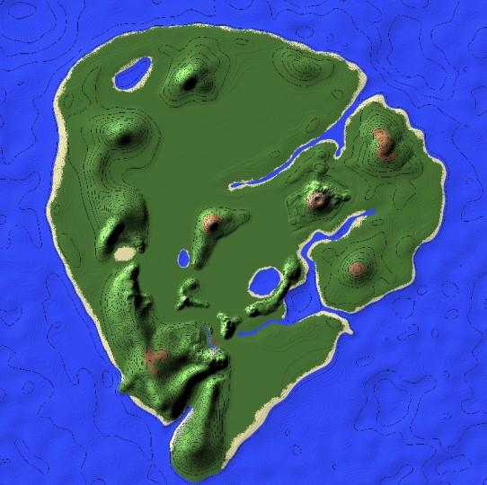 Minecraft Jurassic Craft Map