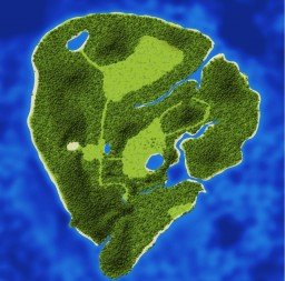 Jurassic Park - Vanilla Map Minecraft Project