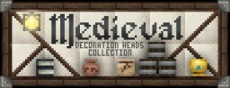 """Medieval Collection"" Decoration Player Heads + Schematic Minecraft Map & Project"