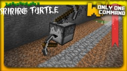 Computercraft's turtle in vanilla minecraft with ONLY ONE COMMAND BLOCK | Item sorting feature Minecraft