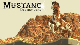 Mustang (Another Birthday Dedication)(Custom Terraformed)(Organic Desert Horse) Minecraft Project