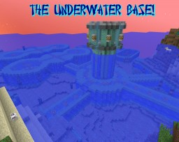 Malew's projects #1: The Underwater Base Minecraft Map & Project