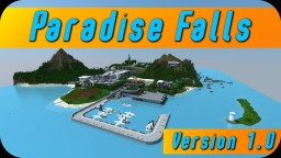 Modern Island - Paradise Falls [Download Version 1.0] Minecraft