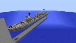Ferdinand-class Destroyer [Fictional] Minecraft Map & Project
