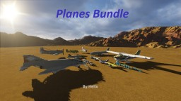 Aircraft Bundle [1:1 to 10:1 scale] Minecraft Map & Project