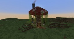 Mushroom Cottage Minecraft Map & Project