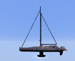 Modern Sail Yacht- Vilma Minecraft Map & Project
