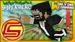 CaptainSparklez with only one command block | Be a superhero Minecraft Map & Project
