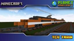 Minecraft TGV Sud-Est Train Minecraft Project