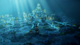 Atlantis - The under water city ( Built for Atlanticcraft's newest animation ) Minecraft