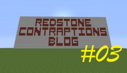 Redstone Contraptions Blog #03: The Automatic Door Minecraft Blog