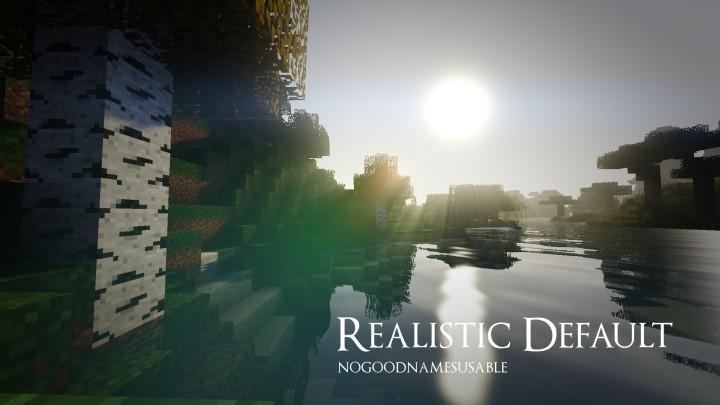 Realistic Default Minecraft Texture Pack