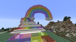 Rainbow Castle That Became The Wizard Of Oz Stream Minecraft Map & Project
