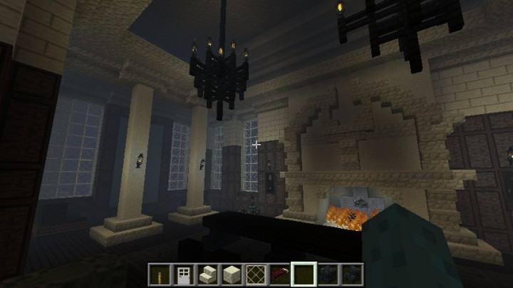 Dark Mansion Exterior