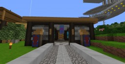 Fish Shop and Aquarium Minecraft Map & Project