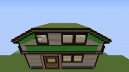 Red's House (Pokemon Gold/Silver) in 3D! Minecraft Project