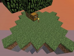 Sky Block Survival Minecraft Map & Project