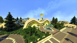Modern Beach Resort Minecraft