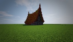 House in Roof - Fantasy house Minecraft Project