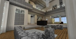 Crystal penthouse - Penthouse, Sweet! - Solo Build Contest Minecraft Map & Project
