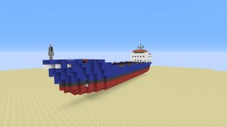 Small Cargo Ship Minecraft Map & Project