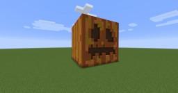 Giant Pumpkin Minecraft Map & Project