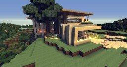 Modern House 4 - (Youtube Let's Build Finished House) Minecraft Map & Project