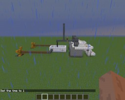 Request from ahrloeborras - Steam double-reciprocating engine with water stopping supply Minecraft Map & Project