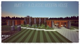 Amity - A Modern Classical House Minecraft Map & Project