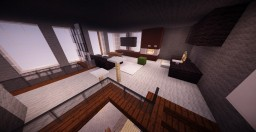 Modern Penthouse Interior || Contest Minecraft Map & Project
