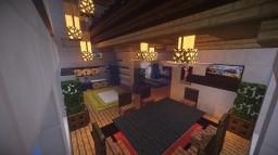 Steve's Modern Penthouse Minecraft Map & Project