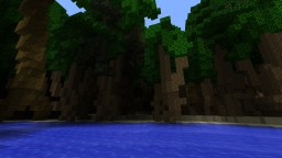 Xtyph, A 4k by 4k jungle world. Minecraft Project