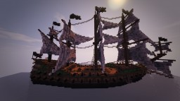 The Burning Witch-A pirate ship Minecraft Map & Project