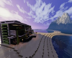 Modern house style 2 Minecraft Map & Project