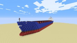 Large Cargo Ship Minecraft Map & Project