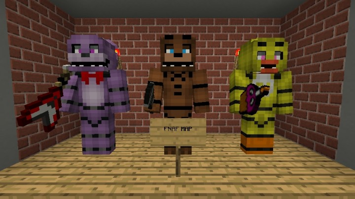 Freddy fazbear s pizza modded 1 7 10 minecraft project