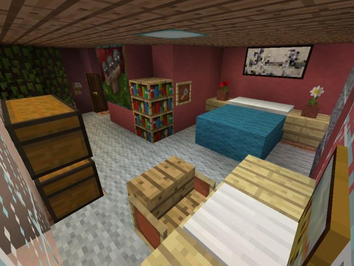 Villager Hotel Penthouse Suite Minecraft Project
