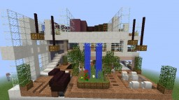 Villager Hotel Penthouse Suite Minecraft Map & Project
