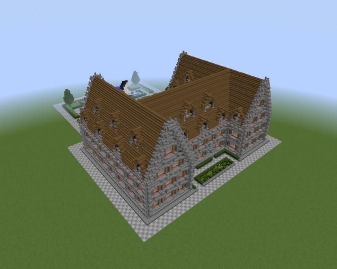 Haus mit garten house with garden minecraft project for Haus mit garten