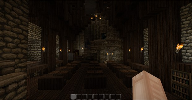 Defence Against The Dark Arts And Divination Classroom Minecraft Map