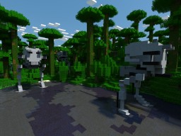 AT ST (Compact Version) STAR WARS Minecraft