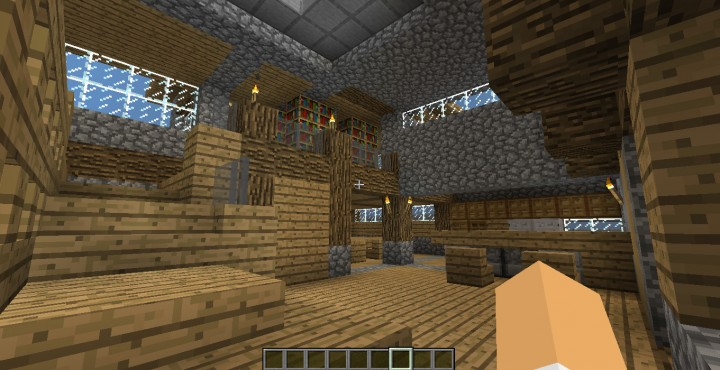 Modern Mansion With Secret Lab Minecraft Project