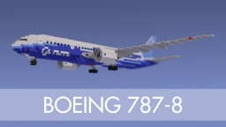 Boeing 787-8 – Boeing House Livery Minecraft Map & Project