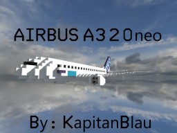 [2:1 Scale Airbus A320neo Repilca|+Download] Minecraft Map & Project
