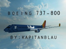 [ 2:1 Scale Replica | Boeing 737-800 | +Download] Minecraft Map & Project