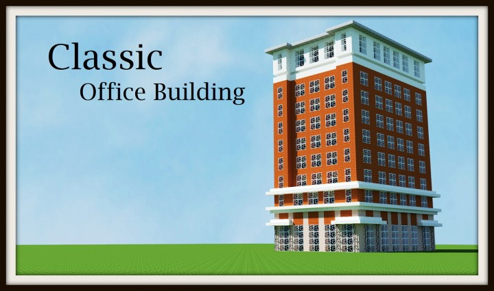 Classic office building tutorial minecraft project for Building classic small craft
